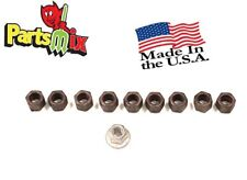 Fits Charger Dart Roadrunner Cuda Coronet A B E C Body Axle Retainer Nut 10 pcs