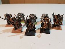 GW Warhammer Quest, Age of Sigmar & Fantasy Battles: 8 Painted Chaos Warriors