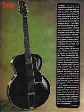 The Lloyd Loar Gibson L-5 Grand Concert guitar 1994 full page article print