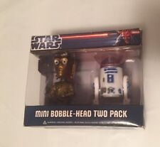 STAR WARS-FUNKO-2012 MINI BOBBLE HEAD-TWO PACK(R2-D2 C-3PO)