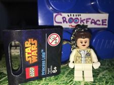 Official Lego Star Wars PRINCESS LEIA Keyring UK Seller Fast Post Brand New