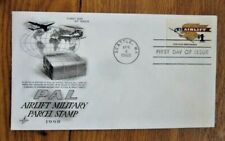 $1 PAL AIRLIFT MILITARY PARCEL STAMP FOR VIETNAM WAR SERVICEMENT 1968  FDC