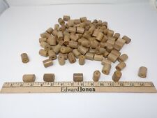 LOT of 115  Large bamboo real wood beads 1