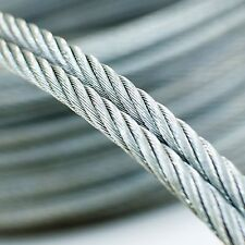 10m câble acier inox 1mm cordage torons: 7x7