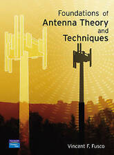 Foundations of Antenna Theory and Techniques by Fusco, Vincent, NEW Book, FREE &