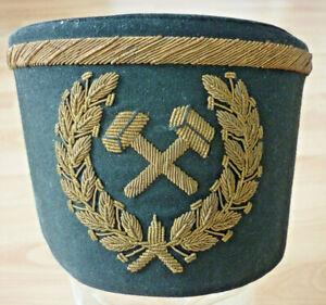 Schirmmütze, Uniformmütze, Tschako, Schachthut Bergbau, Preussen    (Art.5203)
