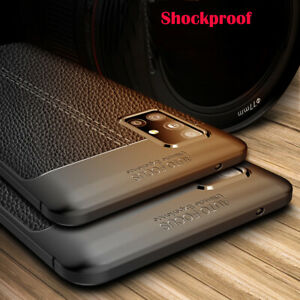 For Samsung Galaxy A31 A71 A51 A41 Shockproof Rubber TPU Leather Back Case Cover