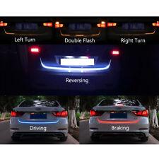 1.5M 4Colors Car Trunk Flow Type LED Strip Tailgate Turning Signal Light Bar US