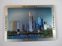 Frankfurt MAINHATTAN Premium Souvenir Magnet,Germany Deutschland,Laser Optik !