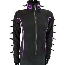 Spike veste polaire Emo Goth Cyber Punk pointus Festival Noir & Lilas