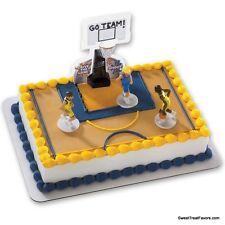Basketball Cake Decoration Topper Kit Cupcake Birthday Boy Sports Net Game Team