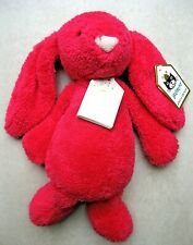 Jellycat Bashful Queenie Bunny Special Edition Pink Rare Retired BNWT