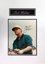 Jack Nicklaus Original In Person Autograph