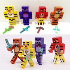4Pcs FNAF Five Nights at Freddys Bonnie Foxy Fazbear Minifigure Mini Figures UK