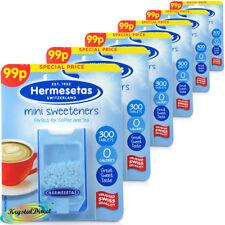 6x Hermesetas mini édulcorants original 300 comprimés 0 calories