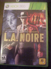 L.A. Noire (Xbox 360) Includes 3 Disc, Booklet, Case Game Add-On Download insert