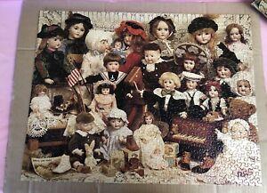 Jigsaw The Doll Shop Over 500 Pces COMPLETE HALLMARK CARDS #11280