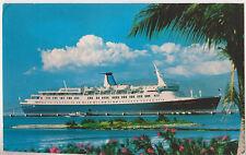 M.S.Stella Solaris,Ocean Liner,Sun Lines,Used,2 Trinidad &Tobago Stamps,1982