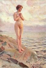 SUNSET AT EDO 1912 Anders Zorn PRINT