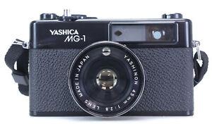 Yashica MG-1 Lens 45mm F2.8  (Réf#C-569)