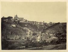 Photo Albuminé Avallon Bourgogne 1863