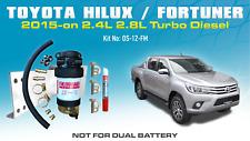 Fuel Manager Pre Filter Kit for Toyota Hilux Fortuner N80 2.4L 2.8L 1GDFTV 2015