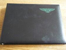 Bentley Manual Binder-Cubierta Sólo