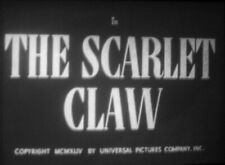THE SCARLET CLAW - Basil Rathbone Super 8mm sound 1944 complete feature 74 min.