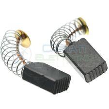 2 pezzi Spazzola per motore 5x8x13 mm in carbone modello universale per motori e
