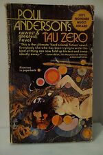 TAU ZERO by Poul Anderson (1970 Science Fiction PAPERBACK, Hugo Nominee)