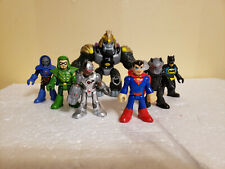 Fisher Price Imaginext Justice League 7-Pack Batman Superman Green Arrow Gorilla