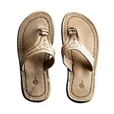Tine K Home Zehentrenner Sandale Leder Stil Marokko Handarbeit Gr. 39