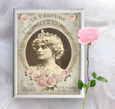 VINTAGE ADVERT FRENCH LE PERFUME  A4 POSTER PRINT WALL HANGING BEDROOM HOME