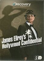JAMES ELLROY'S HOLLYWOOD CONFIDENTIAL - 3 DVD BOX SET - SERIAL KILLERS & MORE