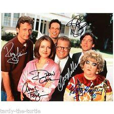 The Drew Carey Show  8 x 10 Autograph Reprint  Drew Carey  Diedrich Bader 4 more