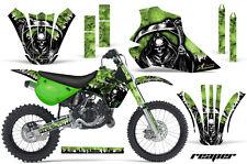 Kawasaki KX80 KX100 Graphic Kit AMR Racing Bike Decal Sticker KX 95-97 RPR G