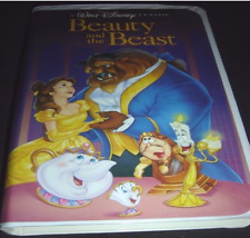 Beauty and the Beast, 1992, VHS, Black dimond, Rare