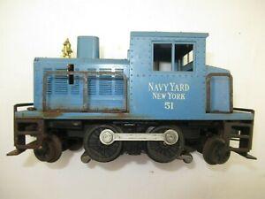 LIONEL 51 Blue Navy Yard Switcher