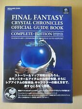 FINAL FANTASY Crystal Chronicles Official Guide w/Map Book Game Cube Japan