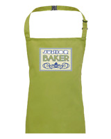 JUNIOR BAKER- British Baker Baking kitchen chef children's / kids apron