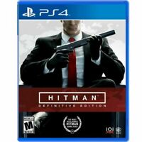 Hitman: Definitive Edition (PlayStation 4, 2018)