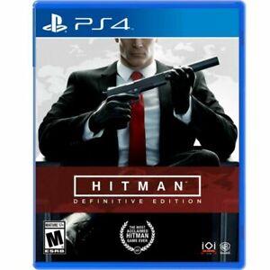 Hitman: Definitive Edition (PlayStation 4, 2018)