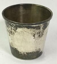 Sterling Silver Cup Lot 2482