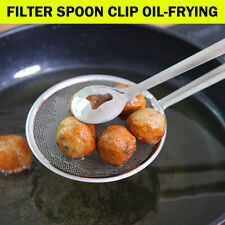 Multi-function Filter Spoon With Clip Oil-Frying Salad BBQ Filter Kitchen Tools