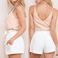 Hot Summer Beach Casual Shorts High-Waist Short Short Pants Lady Women SALE