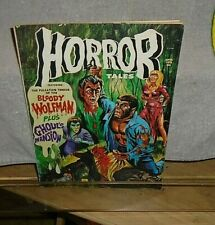 Vintage Horror Tales Very Fine Condition Torture Bondage April 1973 Monster