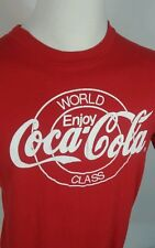 Rare Vintage 80s 90s Coca Cola World Class T Shirt Coke L Usa 50/50 Hipster