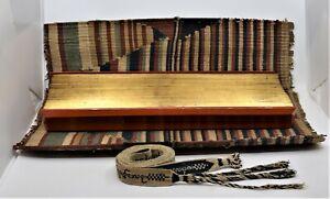 Antique Buddhist Burmese Sutra Sarseyko Palm Leaf Paper Manuscript Kammavaca