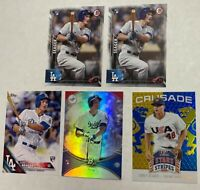 2016 Topps Bowman Platinum Corey Seager 5 ct RC Rookie Lot Dodgers