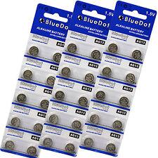 30 X AG13 LR44 LR1154 SR44 A76 357A 303 357 Alkaline Coin Cell Button Battery